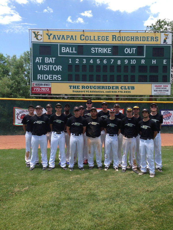 Rocky Mountain Baseball at Yavapai Community College Prescott Arizona