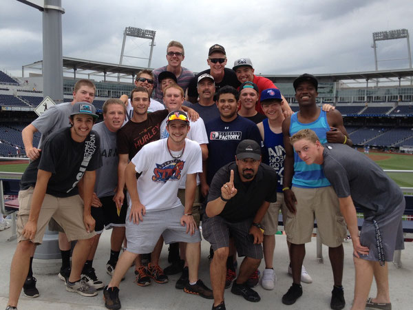 Rocky Mountain Baseball at the College World Series Omaha Nebraska