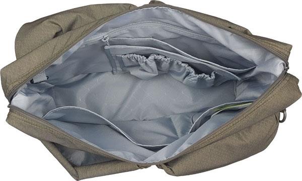 Wickeltasche Lässig Green Label Neckline Bag, Wickeltasche viele Fächer