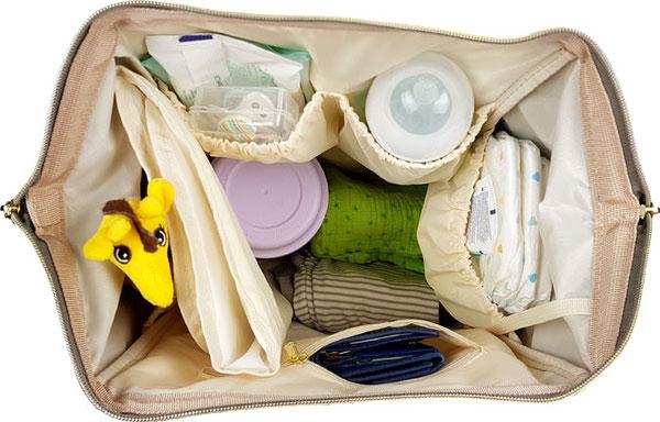 Pomelo Best Wickelrucksack gefüllt, Baby Tasche Rucksack gefüllt