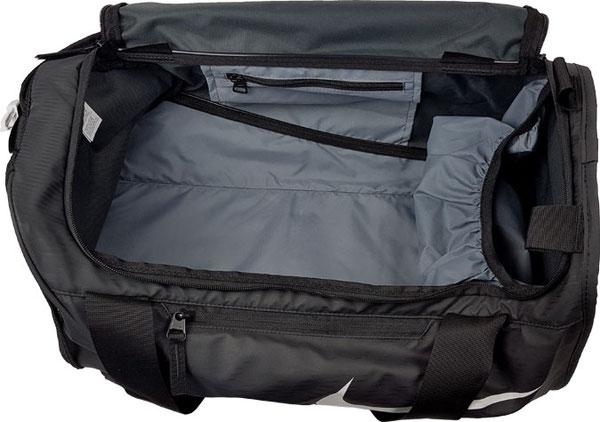 Innenansicht Nike Sporttasche klein (Größe S) ... Nike Sporttasche mit Schuhfach