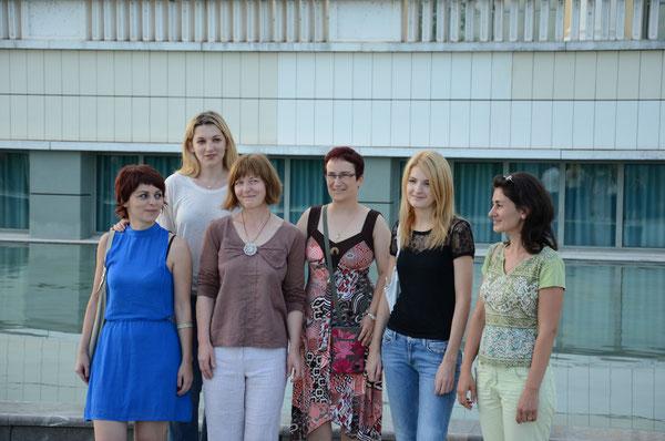 Les féminines du championnat de France 2012 à Pau