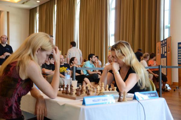 Sophie Milliet et Almira Skripchenko