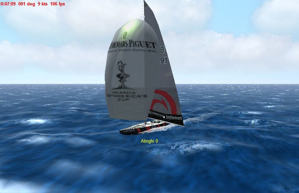 Alinghi Class Americas Cup 32 for Virtual Sailor 6.8 or higher