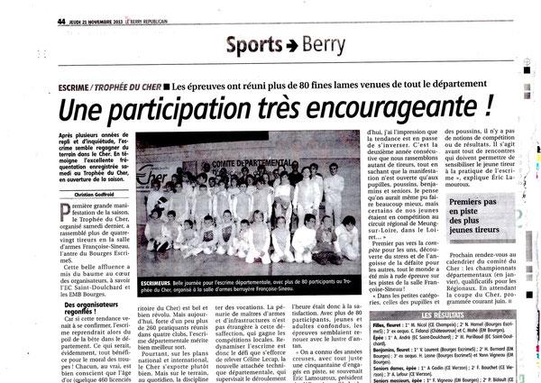 Berry le 21/11/2013