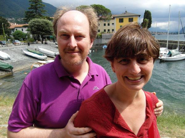 Fabrizio Cracolici e Laura Tussi, agosto 2013