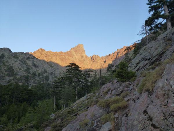 Lever de soleil sur Paglia Orba (2525m)