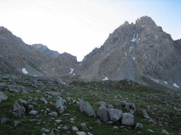 Au Col du Vallonnet