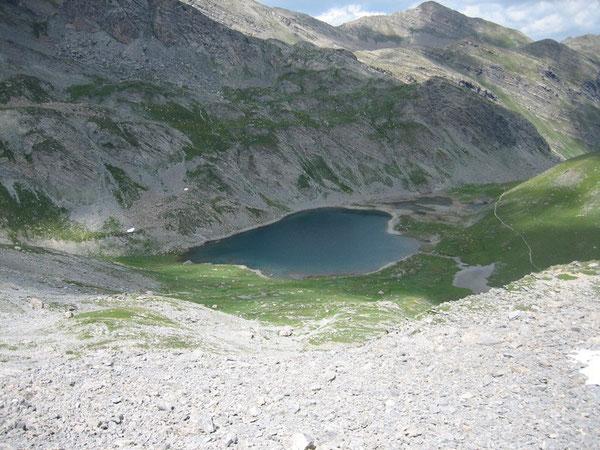 Lac de derrière la Croix