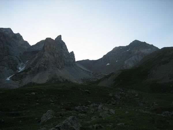 En montant au Col du Vallonnet