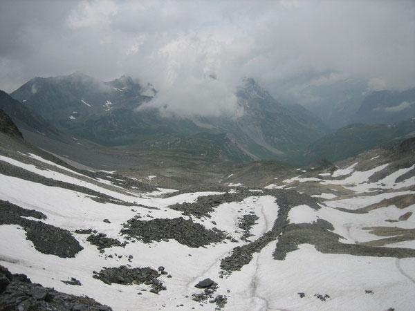 Au Col de Chavière versant Tarentaise