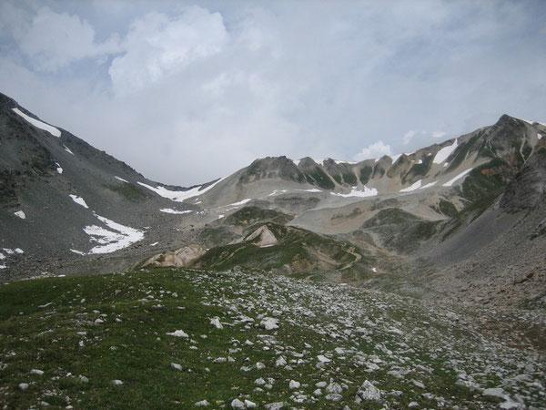 Col de Chavière versant Maurienne