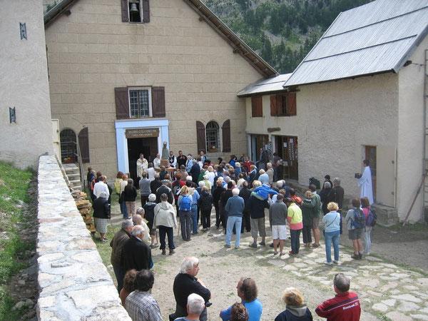 Pèlerinage à la Madone de Fenestre