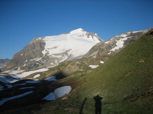 La Grande Motte depuis le Col de la Leisse