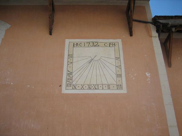 Cadran solaire à Ceillac