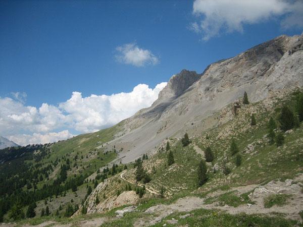 Crête de La Selle depuis le Col Fromage