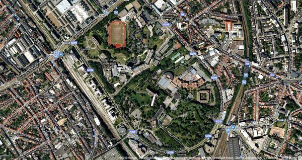 La Plaine, un site, deux universités