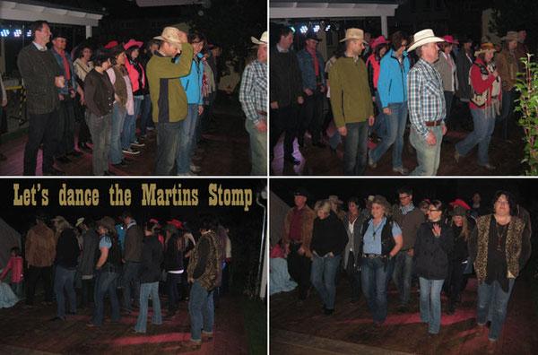 …zur späteren Stunde, nach ein paar Bierchen in aller Munde, war die Tanzfläche fast zu klein!