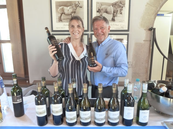 met Thea van der Merwe van Jordan marketing manager Stellenbosch South Africa