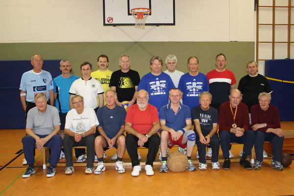 Ü50 Volleyball u. Männer 60+   2012
