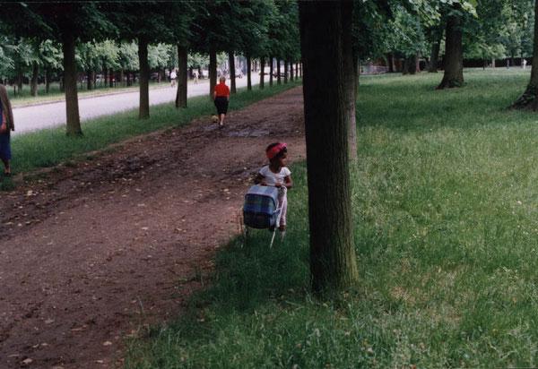 Ballade dans le parc en 1992