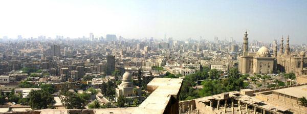 Vue panoramique de la terrase de la citadelle