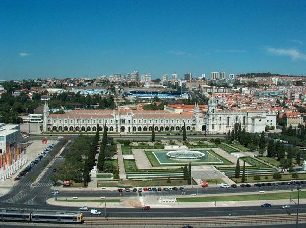 Place impériale et le monastère des Hieronymites