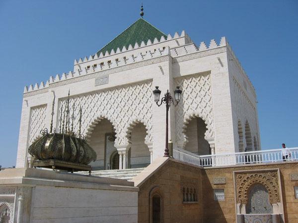 Le Mausolée Mohamed V