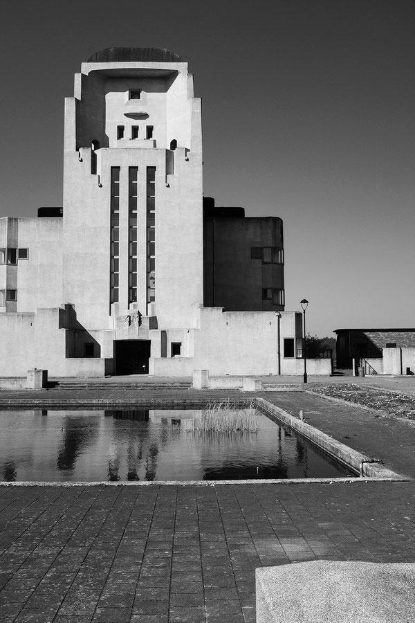 Radio Kootwijk, Kootwijkerzand, Veluwe, Gelderland, Niederlande, Netherlands, Apeldoorn Architektur, Architecture, Art déco