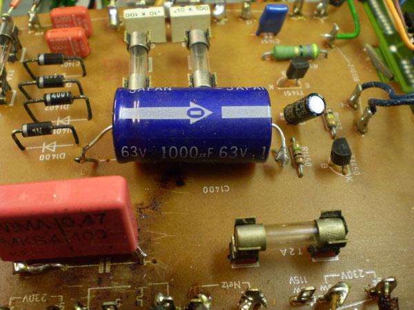 Trafoanschlussplatte Detail