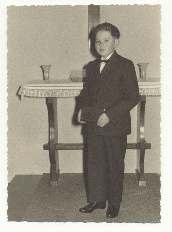 Konfirmation 19. März 1961