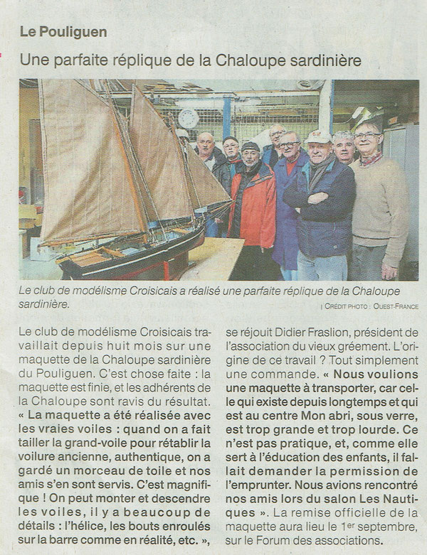 Ouest France 10 Avril 2018
