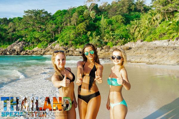 Thailand Regenzeit: Meist herrscht sonniges Wetter, nur das Baden im Meer ist teils eingeschränkt.