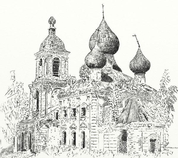 Село Мыт. Вознесенская церковь