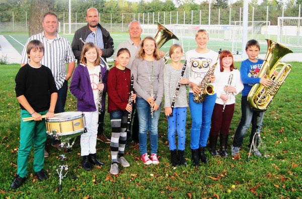 Erste Probe des neuen Schülerorchesters