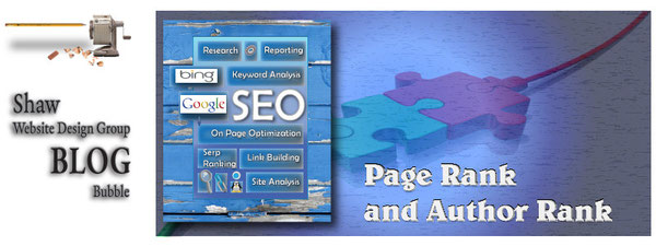 connecting page rank and author rank