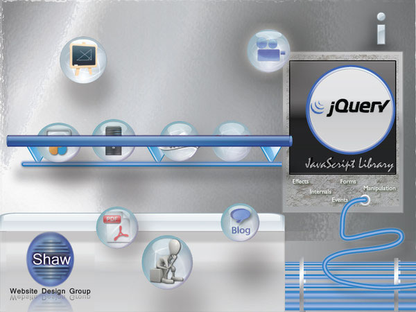 Shaw Website Design Group has many JQuery Bubbles to help you learn.