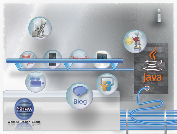 Learning about Java Programming is a snap when you use Shaw's resource bubbles.