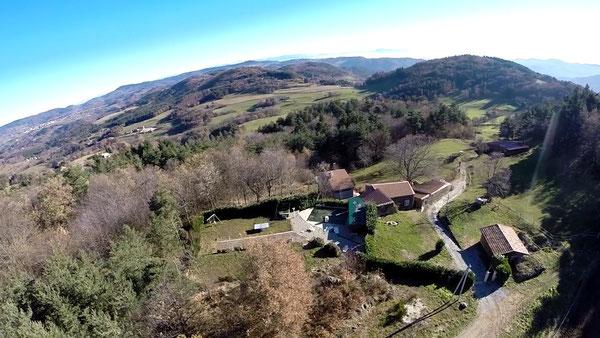 Luftaufnahme von Seyteyre