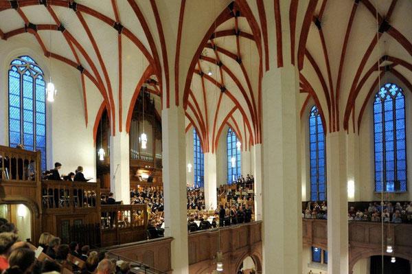 Thomaskirche en Thomaner-Chor