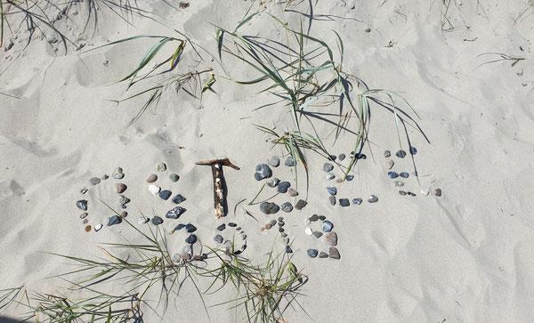 Strandkorbvermietung Juliusruh Sandstrand
