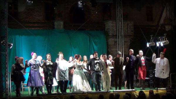 """13 & 14 September 2013 - """"Die verkaufte Braut"""" von B. Smetana - Burg Warberg"""