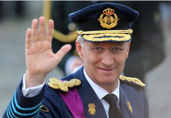 SM  König Philippe  (König der Belgier seit dem 21.Juli 2013)