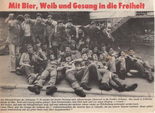 Artikel aus dem Grenz-Echo 1978