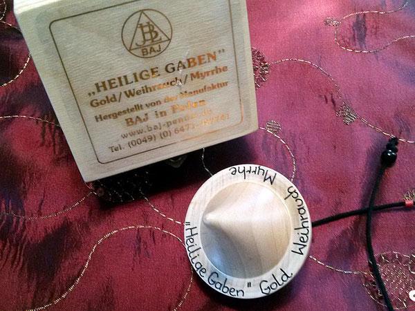 Blog:  Erfahrungsbericht Pendel Heilige Gaben