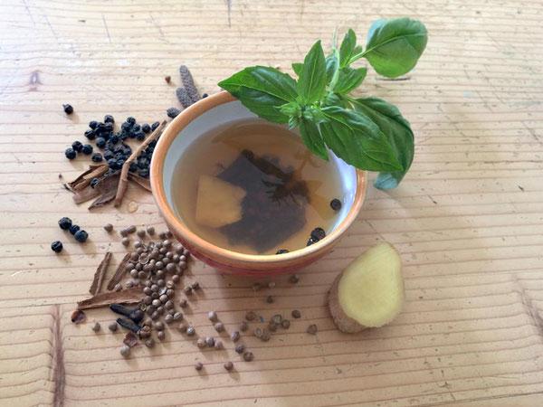 Blog:  Ayurvedischer Erkältungstee