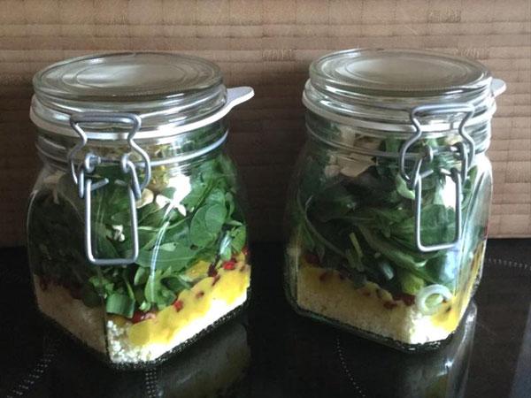Blog:  Couscous Schichtsalat