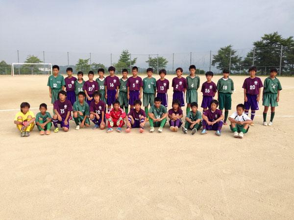 島田JY1,2年&勝央中学1,2年
