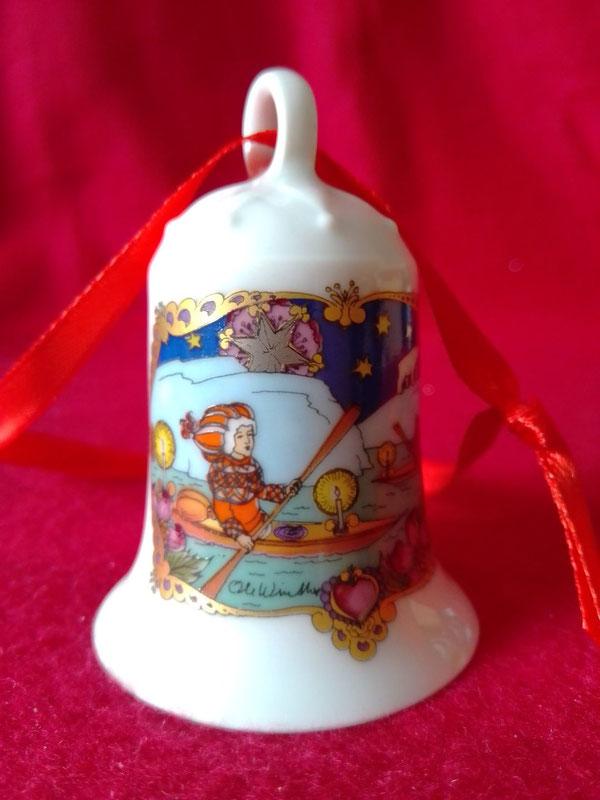Hutschenreuther Weihnachtsglocke, Sammelglocke von 1980