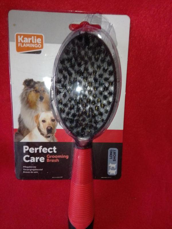Hunde-Pflegebürste für kurzes oder langes Haar